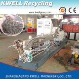 Pelletisierung-Produktions-Maschine der hohen Kapazitäts-HDPE/PP/PVC WPC, hölzerner Tabletten-Granulierer