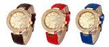 여자, 3개의 눈 시계, 형식 시계 (DC-431)를 위한 디자인 제네바 유일한 시계
