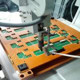 保護カバーが付いているデスクトップの5軸線単一のヘッド二重自動PCBAのはんだ付けする機械か保護カバーが付いている自動はんだ付けする装置