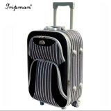 Le créateur de mode Noir&avec boîte d'embarquement de sac de voyage Spinner Bagages