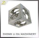Профессиональные выполненные на заказ части алюминия точности подвергли механической обработке CNC, котор филируя
