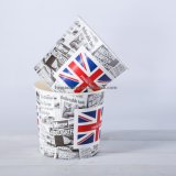 Cubeta de papel descartável do alimento da cutelaria das melhores vendas