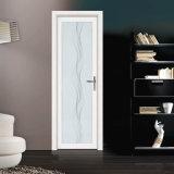 Porte en aluminium personnalisée de salle de bains de matériau de construction avec le gril décoratif