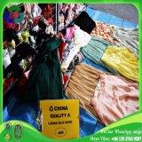 아프리카를 위한 도매 청결한 사용된 옷 숙녀 실크 치마