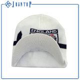 La pianura ha tinto il cappello del Beanie con il contrassegno di stampa