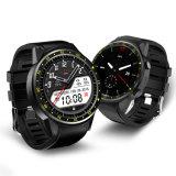 コンパスGPSの遠隔カメラSIMのカードBluetoothが付いているF1スマートな腕時計
