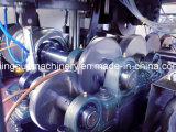 Máquina doble de la taza de papel de la ondulación de la pared con el sistema auto del pegamento