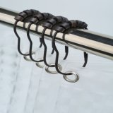 Roller Beads를 가진 튼튼한 Rustproof Stainless Steel Metal Shower Hooks