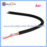 Câble de microphone de haute qualité câble blindé 2 conducteurs de fabricant de 100 m de rabatteur