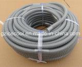 Tubo de desagüe plástico del agua del tubo del acondicionador de aire flexible del PVC
