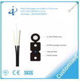 Faisceau des câbles fibre optiques 4 de FTTH avec le modèle multi d'utilisation d'intérieur