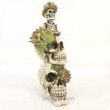 Decorazione succulente di Halloween del cranio della nuova resina all'ingrosso creativa