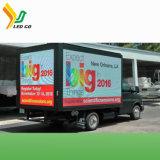 La publicité Les véhicules avec affichage LED à énergie solaire