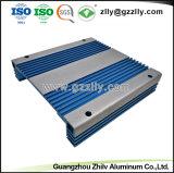 L'extrusion de profilés en aluminium pour l'amplificateur de voiture boîtier avec la norme ISO9001