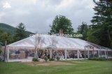 Tenda trasparente della festa nuziale del tetto libero di lusso per la mostra
