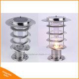 GARTEN Lawm Lampe des Edelstahl-im Freien LED Solar