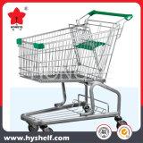 100L супермаркет металла магазинов Trolley с детского сиденья