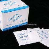 메마른 의학 알콜 Prep 패드 또는 면봉