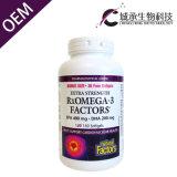 Suplemento de óleo de peixe Ómega 3 comprimidos, cápsulas Softgel de gordura no sangue de balanço