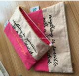 Bolsas de cosméticos a granel barata tela al por mayor bolsas de maquillaje
