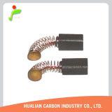 Kohlebürste für Flügelradgebläse/leichte Großhandelskohlebürste für Haushaltsgerät