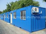 Hightの品質はエジプトにエクスポートされた生きている容器の家を組立て式に作った