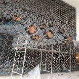 Het Decoratieve Scherm van het Roestvrij staal van de Bekleding van de Muur van het metaal voor de BuitenVoorzijde van het Hotel