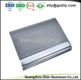 CNC 기계로 가공을%s 가진 열 싱크를 위한 양극 처리된 알루미늄 단면도