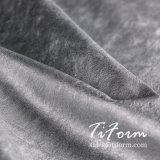 75D tecido Jersey poliéster revestido de prata