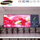 Tablilla de anuncios de interior a todo color de LED P7.62 de la alta definición