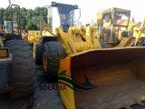 Verwendete Rad-Ladevorrichtung Baugerät-hydraulische vordere Ladevorrichtungs-KOMATSU-Wa380 für Förderung