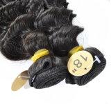 깊은 브라질 머리 직물은 머리 2개 피스 100% 사람의 모발 Remy 비 묶는다
