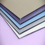 Painel composto 4mm de alumínio Rustproof impermeável do material 3mm da decoração