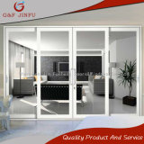 Perfil de aluminio residencial y comercial de puerta corrediza de vidrio