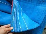 Los E.E.U.U. ponen a Temp movible galvanizado que cerca los paneles con la red de la cortina (XMR77)