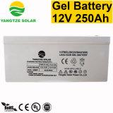 Batteria libera del gel di trasporto 250ah 12V del ciclo profondo di vita attiva di anni 12+
