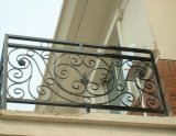Outdoor Wrought Iron Stair Railing