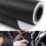 polymerischer Faser-Vinylfilm-Aufkleber des Kohlenstoff-3D für Auto-Verpackungs-Dekoration