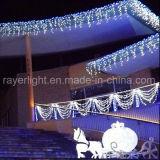 Decoração exterior LED das luzes de Natal Luz de Cortina