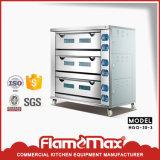 Ein Tellersegment-Gas-Backen-Ofen der Plattform-drei
