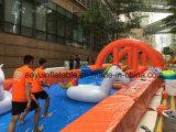 Das Stadt-populäres aufblasbares Spielzeug-aufblasbare Plättchen schieben