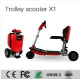 세륨 증명서를 가진 노인을%s 안전하게 지능적인 불리한 스쿠터 Foldable 전자 휠체어