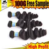 Оптовые выдвижения волос волос 10A бразильские Remy