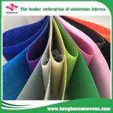 tissu de Nonwovens de pp réutilisé par 80GSM Spunbond pour le sac à provisions, tissu de Nonwoven de la Vierge pp