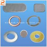 Rete metallica del filtro a disco dell'acciaio inossidabile