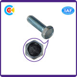 DIN/ANSI/BS/JIS kolen-staal/de Gegalvaniseerde Hexagon Industriële Schroeven Van roestvrij staal van de Bevestigingsmiddelen van de Flens Industriële