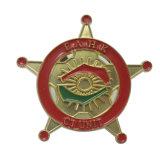 カスタム卵形の金属の錫の日本製アニメのロゴの印刷の会議のバッジ