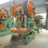 Máquina de perfuração aberta da potência mecânica da máquina da imprensa Inclinable de J23-6.3t para trás