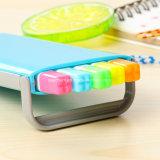 キャンデーの箱カラーHighlighterは本の文房具のオフィスのための蛍光マーカーをペンで書く