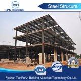 El bastidor de acero H Sandwich Panel de pared de la casa de estructura de acero de construcción prefabricados